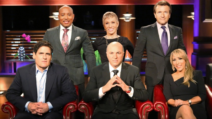 SHARK TANK - Mark Cuban, Daymond John, Barbara Corcoran, Kevin O'Leary, Robert Herjavec and Lori Greiner are
