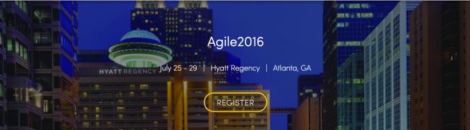 Agile 2016 - Portada